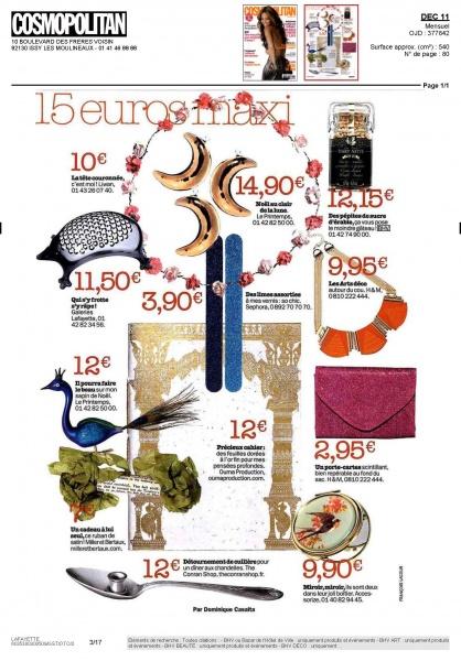 COSMOPOLITAN Magazine in France