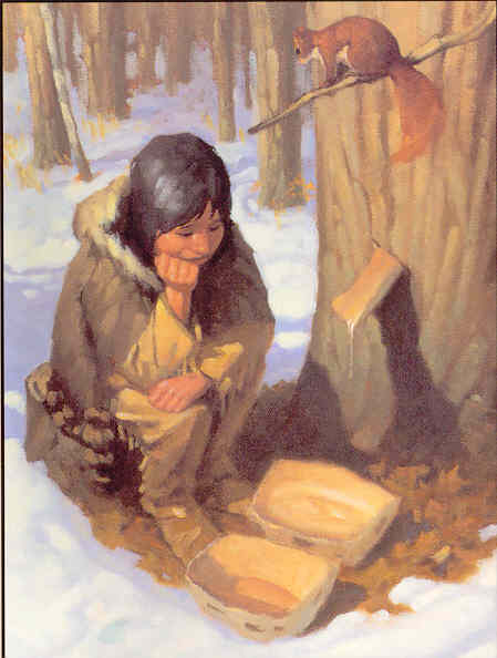 a82c14c292d This brief tale of how maple syrup was discovered is confirmed by the great  Quebec naturalist and scholar Marie-Victorin