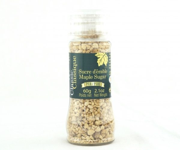 Pure maple sugar- GRINDING CAP BOTTLE 60g