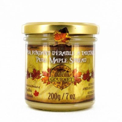 Pure Maple Spread (Pure maple butter) -200 g/ 7 oz – Glass jar
