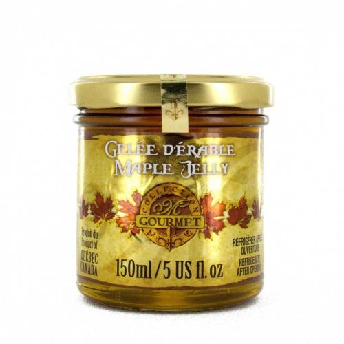 Maple jelly 150 ml -Gourmet Glass jar