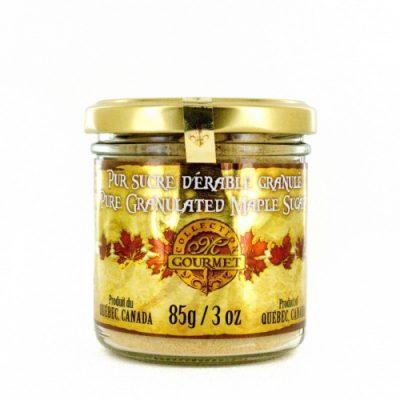 Pure granulated maple sugar FINE -85 g