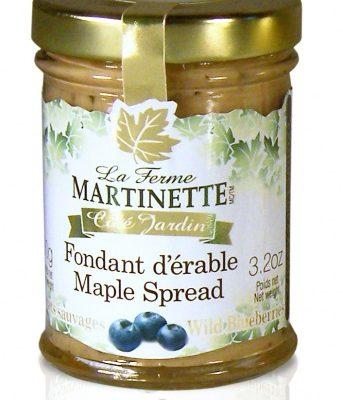 Pure maple spread-Wild Blueberries 90g