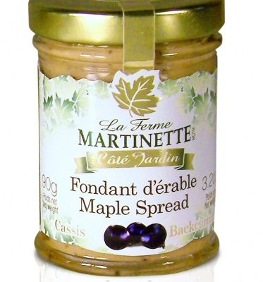 Pure maple spread -Blackcurrants 90g