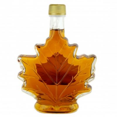 Pure maple syrup 250 ml-8.5 US Fl.oz CANADA A- Amber, Rich Taste-Maple leaf