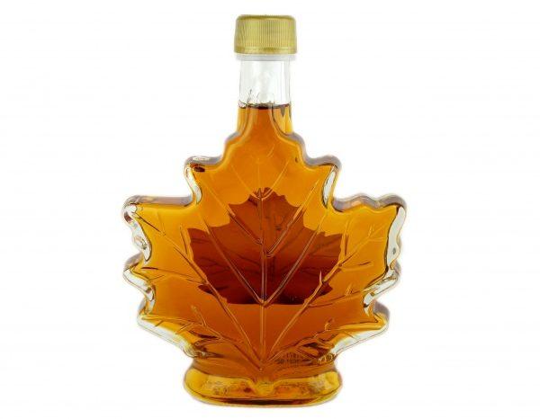 Pure maple syrup 250 ml-8.5 US Fl.oz CANADA A- Amber, Rich Taste-Maple leaf