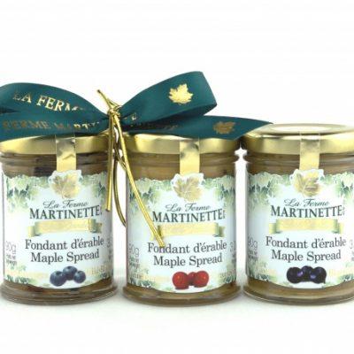 GIFT-SET-TRIO Pure maple spread-Fruits 90g