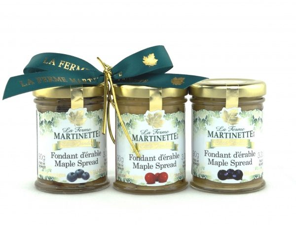 GIFT-SET-TRIO Pure maple spread-Fruits 90g