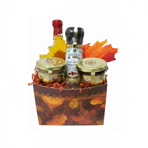 Autumn Maple Leaves Gift Box