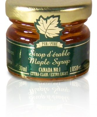 Pure maple syrup CANADA A-Golden, Delicate Taste 12x28ml