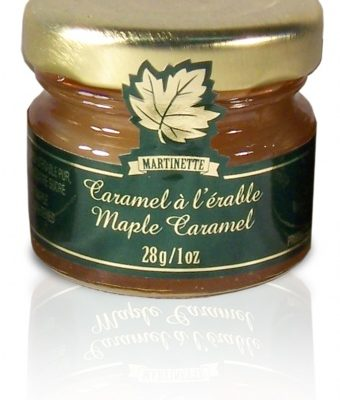 Maple Caramel- 12 x 28g/1oz – MIGNONS Glass jars