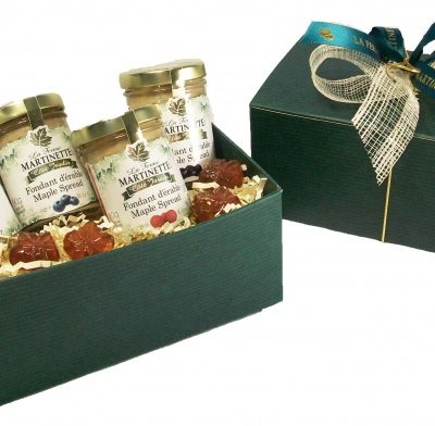 QUEBEC MAPLE FRUITS GIFT-BOX