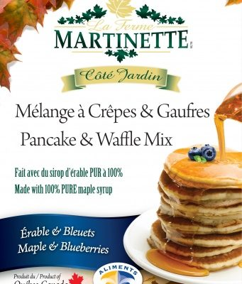 Pancake Waffle mix 500g-BLUEBERRIES-MAPLE