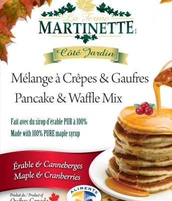 Pancake Waffle mix-CRANBERRIES-MAPLE 500g