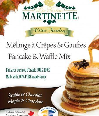 Pancake Waffle mix-MAPLE-CHOCOLATE 500g