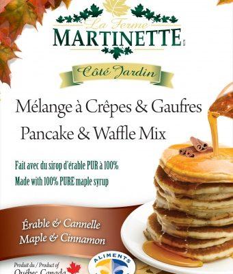 Pancake Waffle mix-MAPLE-CINNAMON 500g