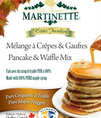 Pancake Waffle mix-MAPLE NUGGETS 500g