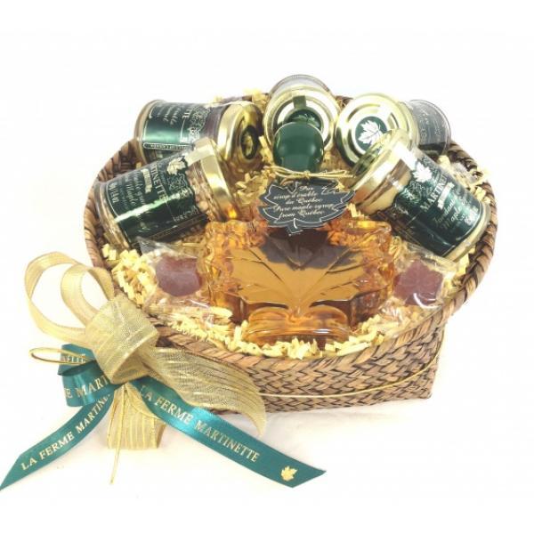 MAPLE Gift-set Round Basket