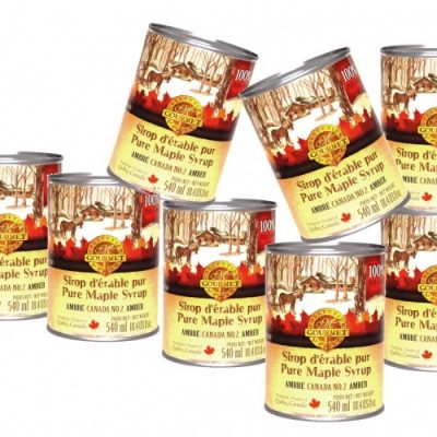 Pure maple syrup CANADA A- DARK, Robust Taste 8x540ml