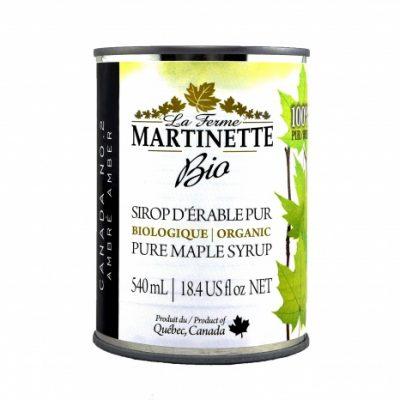 ORGANIC Pure maple syrup DARK, Robust Taste 8X540ml CANS