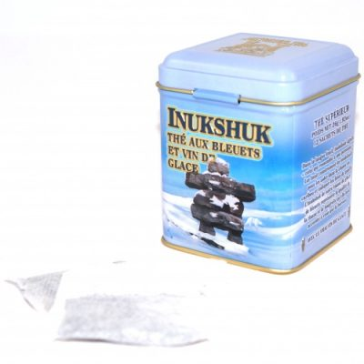 Inukshuk (Blueberry-Icewine) Tea 26g -12 tbgs Tin