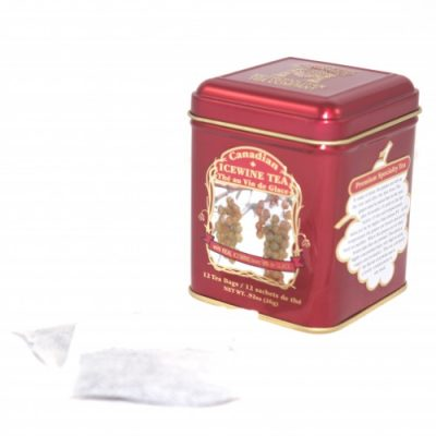 Canadian Icewine Tea 26g – 12 tbgs Tin