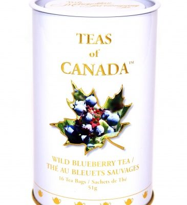 Wild Blueberry Tea 51g -16 tbgs Tin