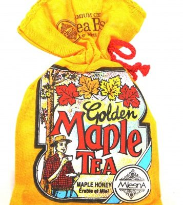 Golden Maple Tea Maple & Honey – 10 tbgs Yellow bag
