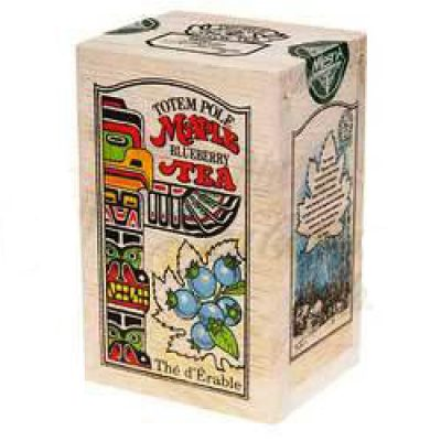 Maple Blueberry Tea 24g -12 tbgs Wooden box-TOTEM POLE