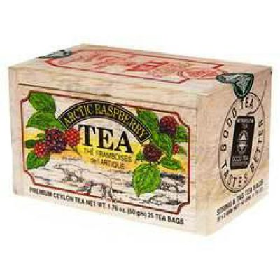 Arctic Raspberry Tea 50g- 25 tbs in a wooden box
