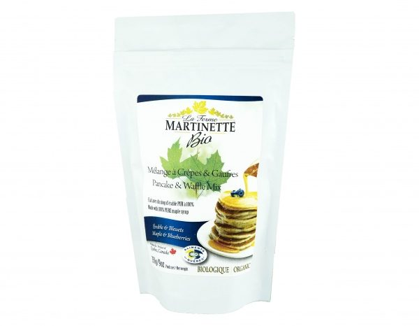 ORGANIC Pancake BLUEBERRIES-MAPLE 500g