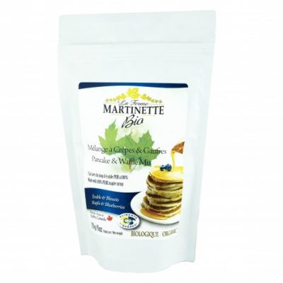 ORGANIC Pancake BLUEBERRIES-MAPLE 250g