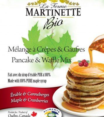 ORGANIC Pancake CRANBERRIES-MAPLE 250g
