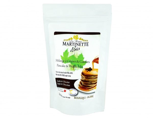 ORGANIC Pancake CHOCOLATE-MAPLE 500g
