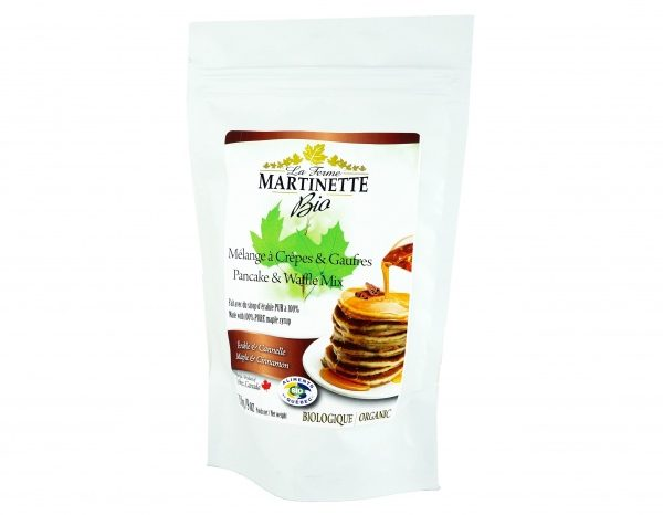 ORGANIC Pancake CINNAMON-MAPLE 250g