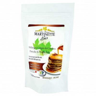 ORGANIC Pancake CINNAMON-MAPLE 500g