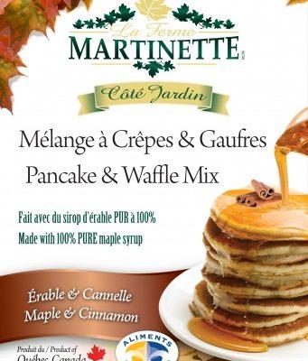 Pancake Waffle mix 250g-CINNAMON-MAPLE