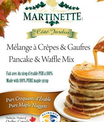 Pancake Waffle mix-MAPLE NUGGETS 250g