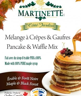 Pancake Waffle mix-BLACK FOREST-MAPLE 250g