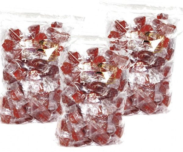 Clear hard maple syrup candies – 3x1kg bag