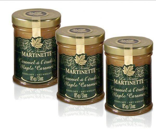 Maple Caramel 3 X 85g -Glass jars