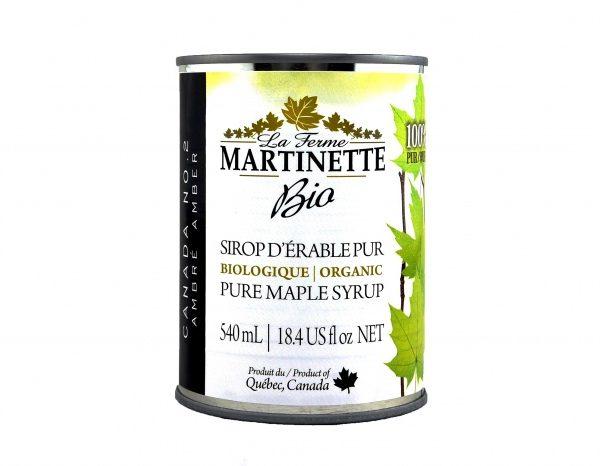 ORGANIC Pure maple syrup DARK, Robust Taste 3X540ml CANS