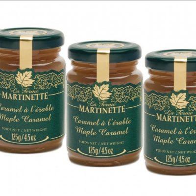 Maple Caramel -3 x 125 g- Glass jars