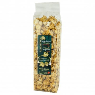 Salty Maple Popcorn 150g (with fleur de sel)