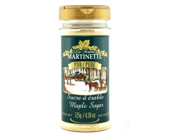Pure maple sugar 125g FINE- PET bottle