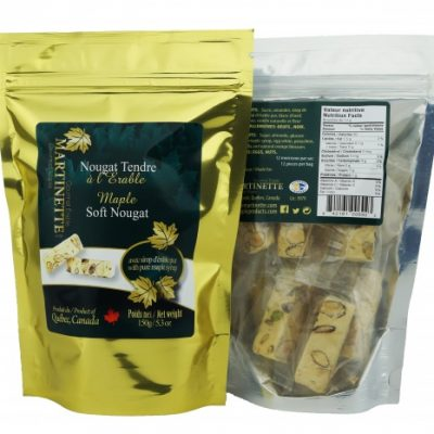 Maple Soft Nougat 150g- 12 pieces bag