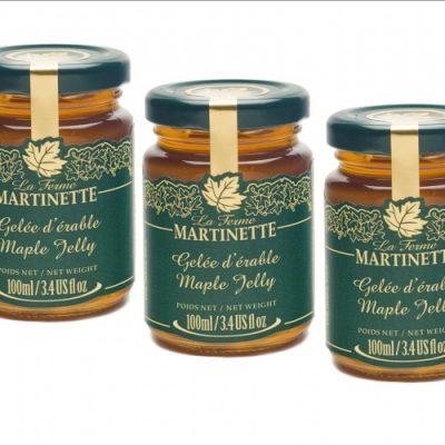 Maple jelly 3 x 100 ml – Glass jars