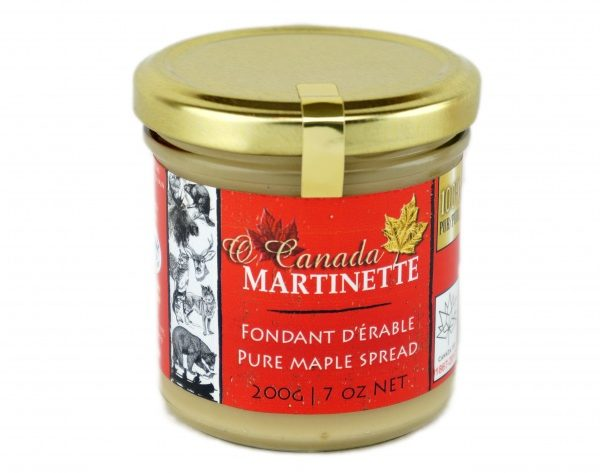 O CANADA- Pure Maple Spread (Pure maple butter) -200 g/ 7 oz – Glass jar