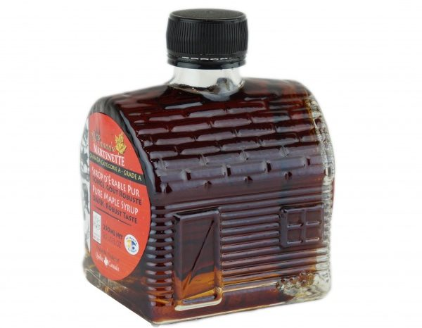 O CANADA- Pure maple syrup -Dark, Robust taste 250ml- Sugarhouse