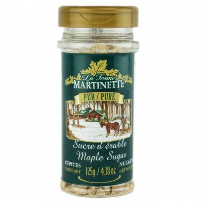 Pure maple sugar 125g NUGGETS- PET bottle